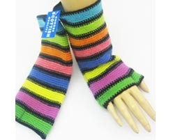 The Scarf Company 100% Lambswool Ladies Wristlets - Solid