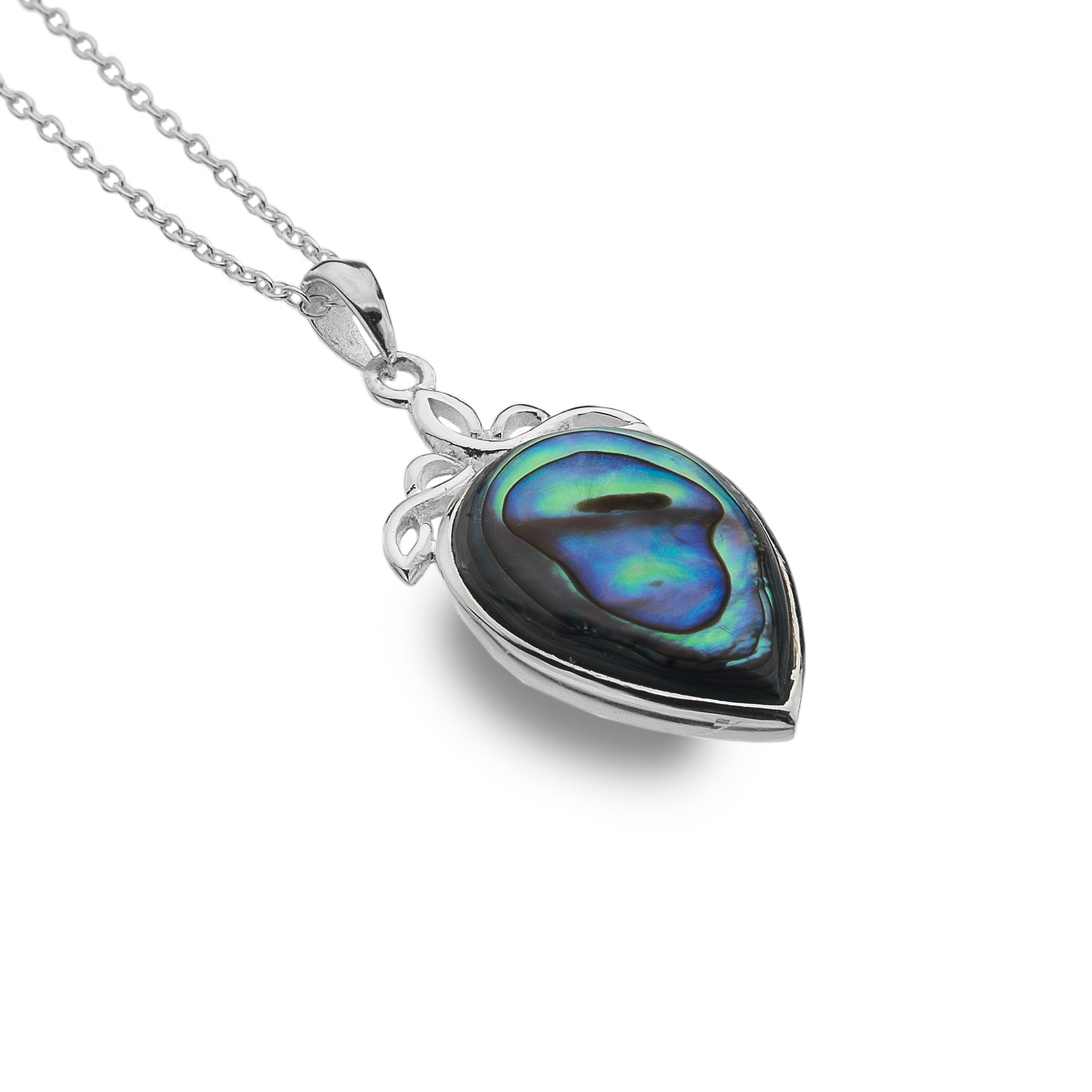 Celtic Knot Sterling Silver Pendant Necklace