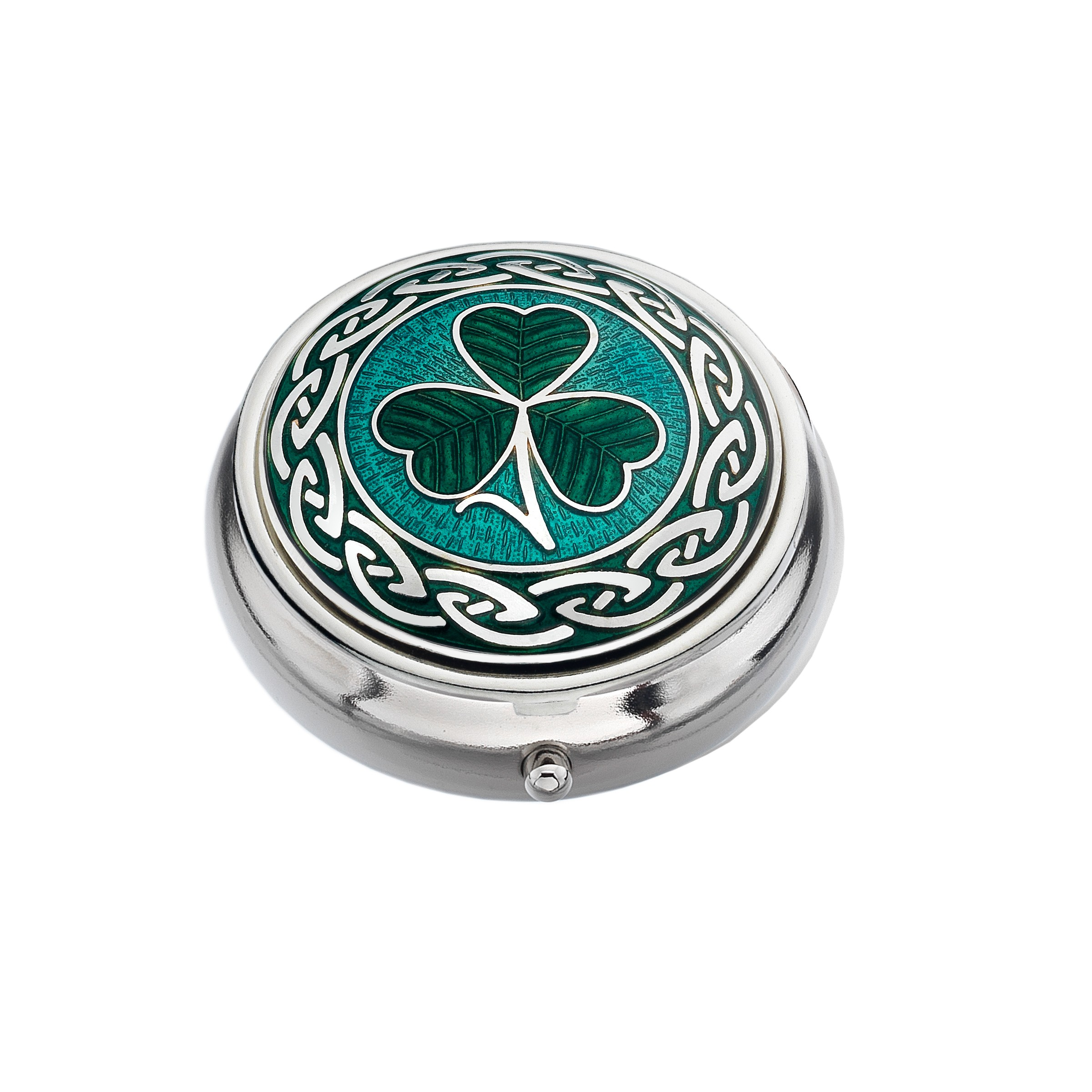 Shamrock & Knots Small Pill Box