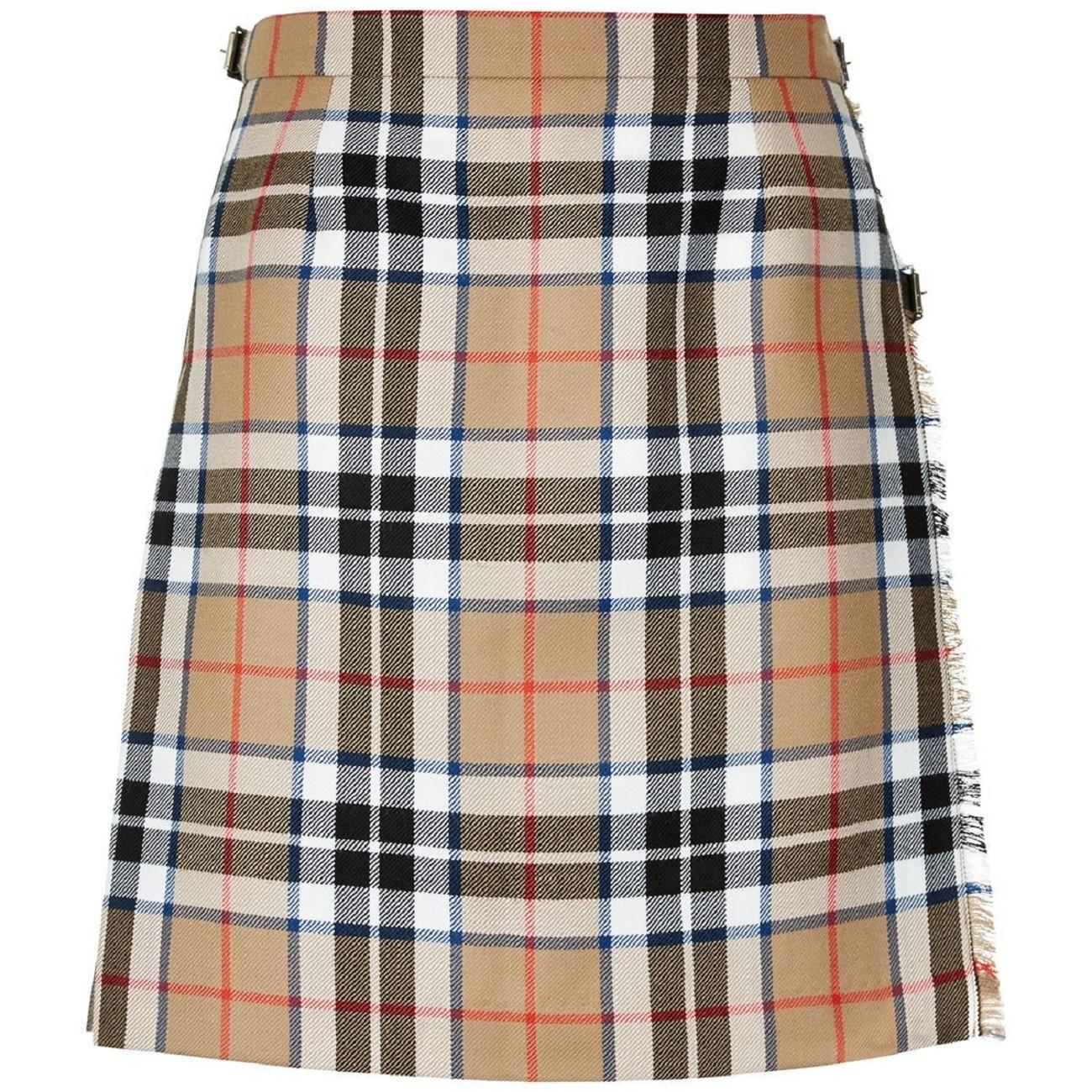 Lochcarron Ladies Tartan Pure New Wool Mini Skirt Kilt - Made in Scotland