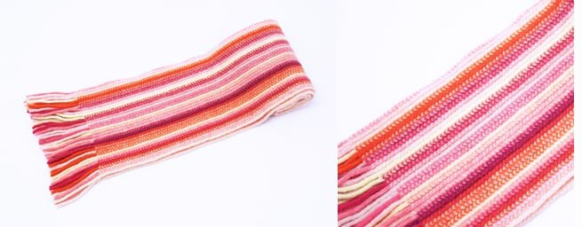Pink Children's Lambswool Scarf from The Scarf Company