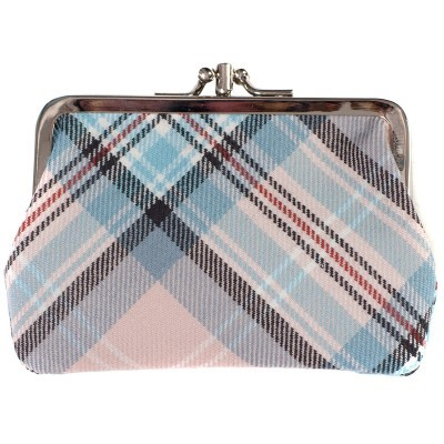 Lochcarron Princess Diana Rose Memorial Tartan Medium Coin Purse - Made in Scotland