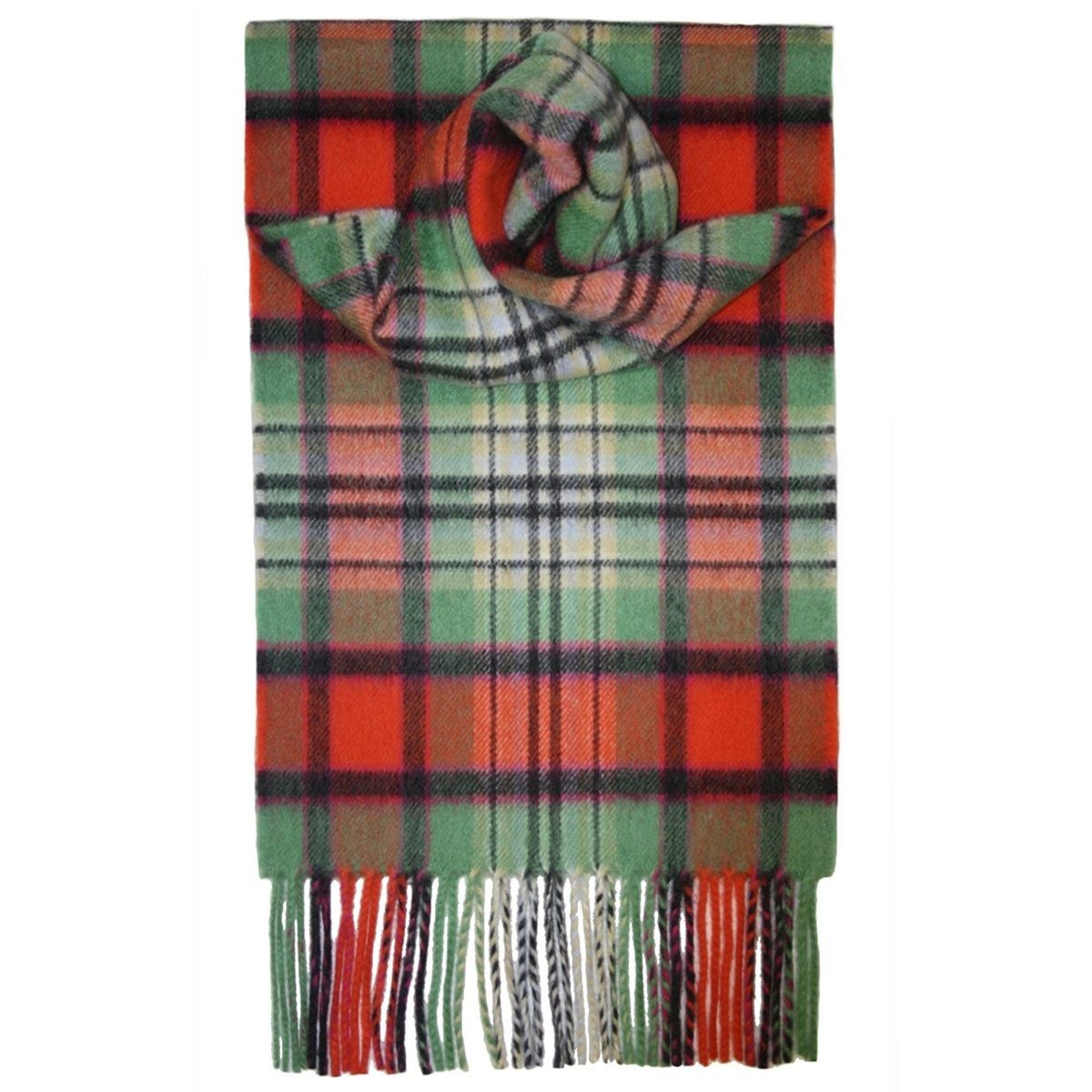 Dundee Old Ancient Tartan 100% Cashmere Scarf by Lochcarron of Scotland