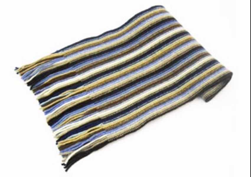 Muted Mix Lambswool Scarf from The Scarf Company - Made in Scotland