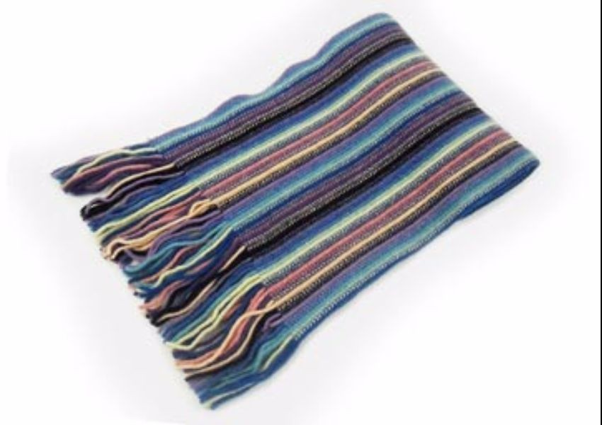 Dark Sky Lambswool Scarf from The Scarf Company - Made in Scotland