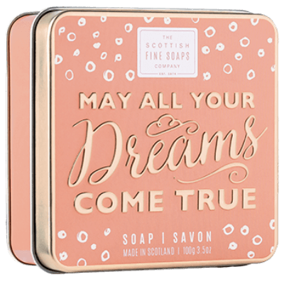 May All Your Dreams Come True Soap in a Tin