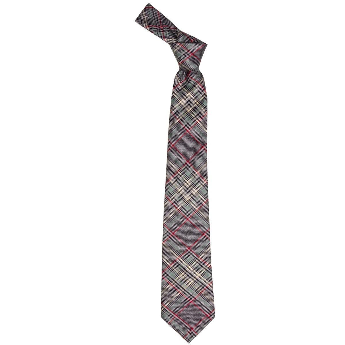 Plockton Check Lochcarron of Scotland Tweed Wool Tie