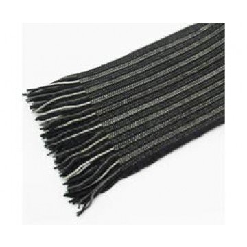 The Scarf Company 100% Cashmere 1 Ply Womens Scarf - Black