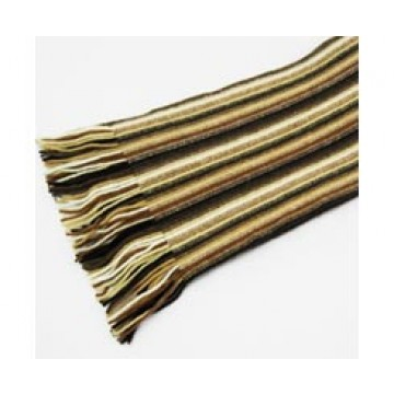 The Scarf Company 100% Cashmere 1 Ply Womens Scarf - Brown