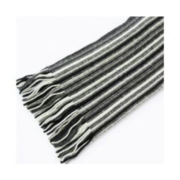 The Scarf Company 100% Cashmere 1 Ply Womens Scarf - Grey