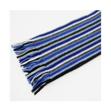 The Scarf Company 100% Cashmere 1 Ply Womens Scarf - Navy