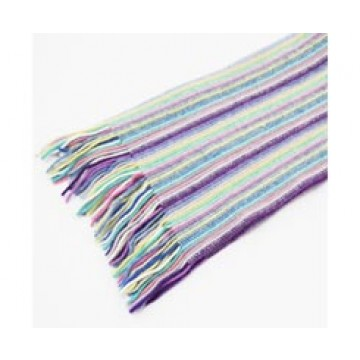 The Scarf Company 100% Cashmere 1 Ply Womens Scarf - White