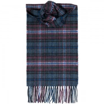 Scotland Forever Tartan 100% Cashmere Scarf by Lochcarron of Scotland