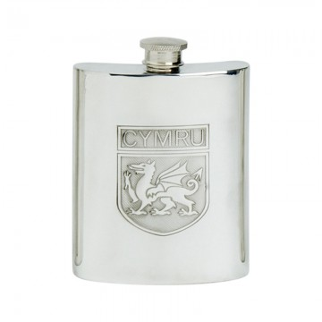 Edwin Blyde Welsh Shield Kidney Flask