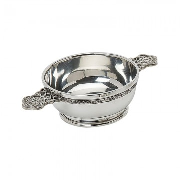 Edwin Blyde Celtic Collection Quaich Bowl Celticc Knot Handles