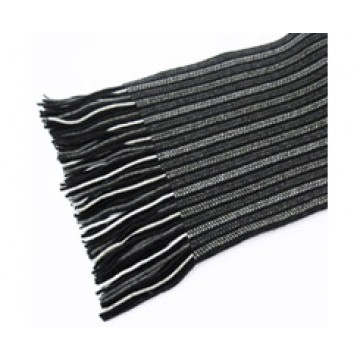 The Scarf Company 100% Cashmere 2 Ply Ladies Scarf - Black
