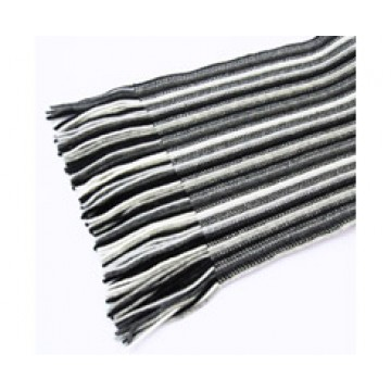 The Scarf Company 100% Cashmere 2 Ply Ladies Scarf - Grey