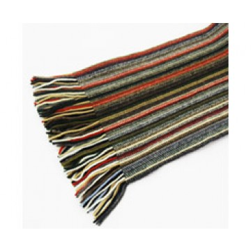 The Scarf Company 100% Cashmere 2 Ply Ladies Scarf - Olive