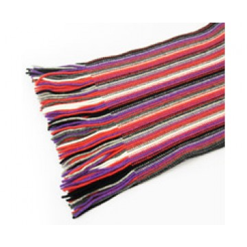 The Scarf Company 100% Cashmere 2 Ply Ladies Scarf - Purple