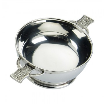 "Edwin Blyde Celtic Collection 5"" Quaich Bowl With Iona Handles"