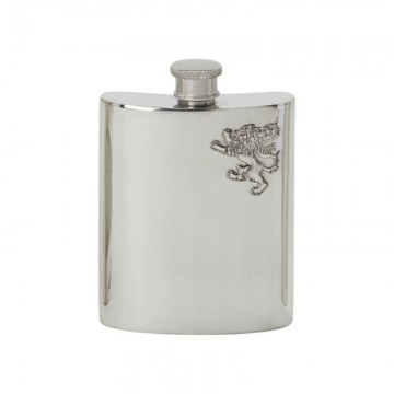 Edwin Blyde Celtic Collection Rampant Lion Kidney Flask