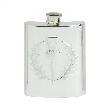 Edwin Blyde Thistle Collection Classic Thistle Kidney Flask
