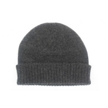 The Scarf Company Charcoal Grey Cashmere Beanie Hat