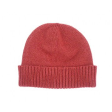 The Scarf Company Protea Red Cashmere Beanie Hat