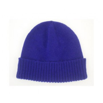 The Scarf Company African Violet Cashmere Beanie Hat