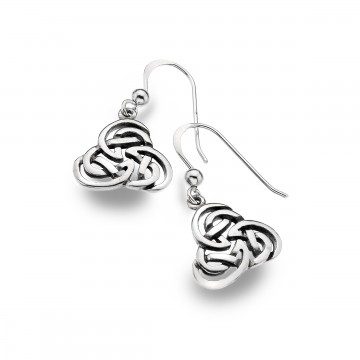 Celtic Knots Sterling Silver Earrings