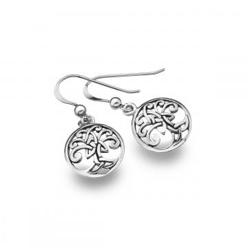 Celtic Tree of Life Sterling Silver Earrings