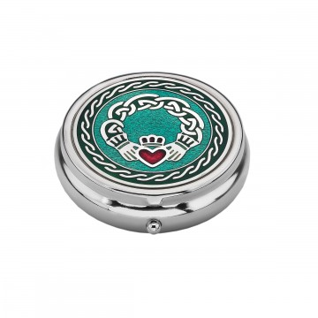 Claddagh Large Pill Box