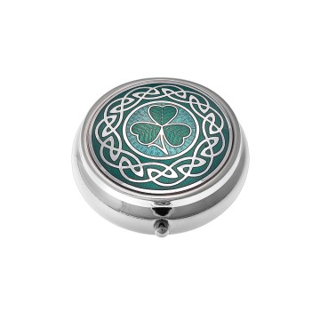 Celtic Shamrock Small Pill Box