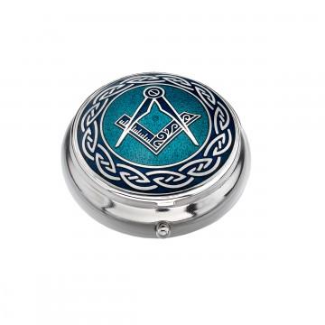 Compass (Masonic) Small Pill Box