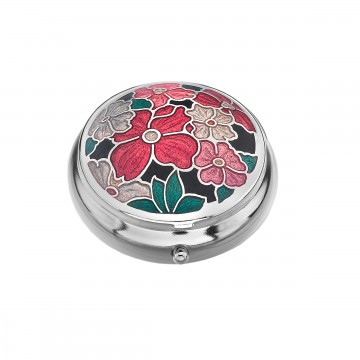 Multi Flower Small Pill Box