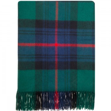 100% Lambswool Blanket in Armstrong by Lochcarron of Scotland