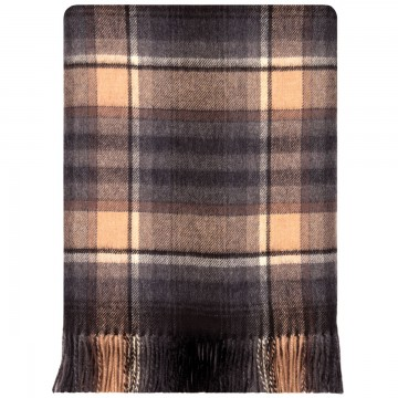 100% Lambswool Blanket in Tullynessle by Lochcarron of Scotland