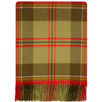 100% Lambswool Blanket in Torosay by Lochcarron of Scotland