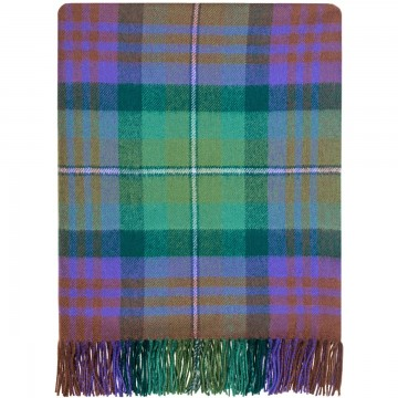 100% Lambswool Blanket in Isle of Skye by Lochcarron of Scotland