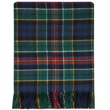 100% Lambswool Blanket in Allison Modern by Lochcarron of Scotland