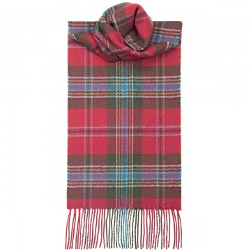 MacLean of Duart Weathered Tartan 100% Lambswool Scarf by Lochcarron