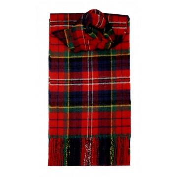 MacPherson Clan Modern Tartan 100% Lambswool Scarf by Lochcarron