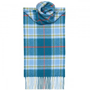 Musselburgh  Tartan 100% Lambswool Scarf by Lochcarron