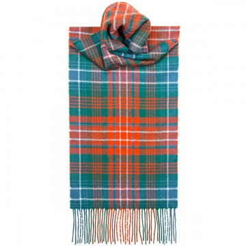 Wilson Ancient Tartan 100% Lambswool Scarf by Lochcarron