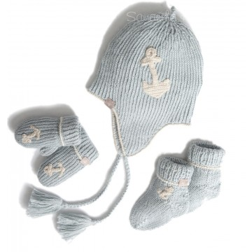 Alpaca Blue Baby Boy Gift Set