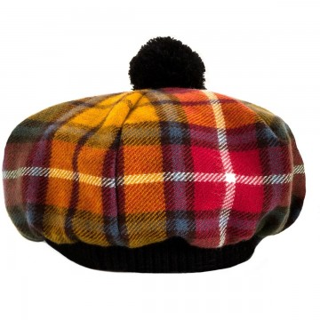 Buchanan Antique Tartan Brushed Wool Tam
