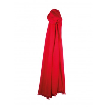 Sinclair Duncan Thistledown Cashmere Scarf - Beach Hut Red