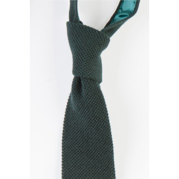 Cashmere Narrow Knitted Tie - Bottle