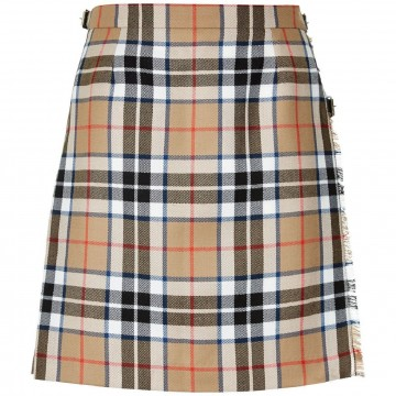 Lochcarron Ladies Tartan Pure New Wool Mini Skirt Kilt - Made in Scotland