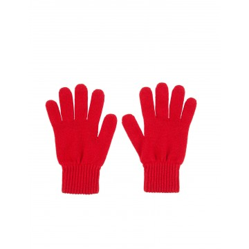 Cashmere Ladies Gloves - Cardinal